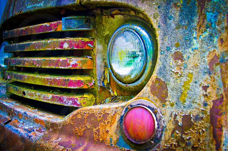 Old Truck Paint Decay photo