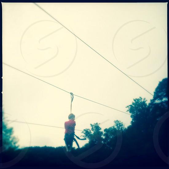Zip line photo