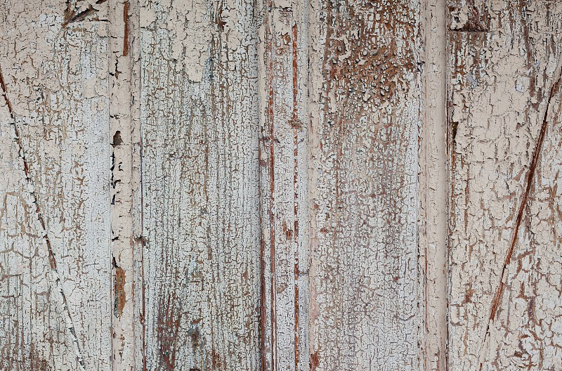 Details of an old weathered wooden material. photo