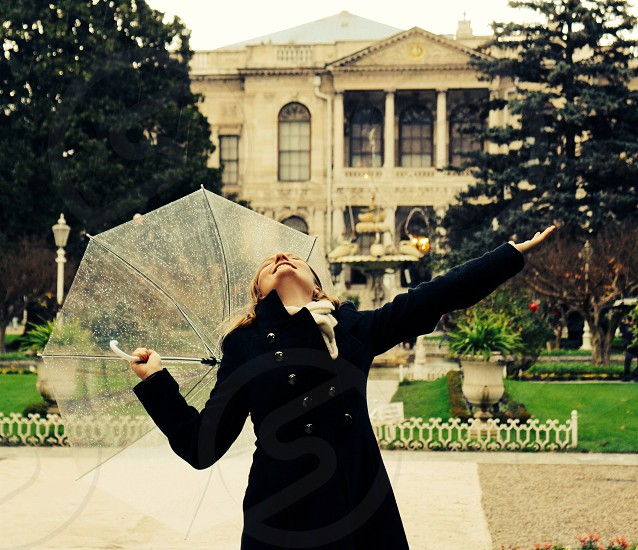 Singing in the rain... photo