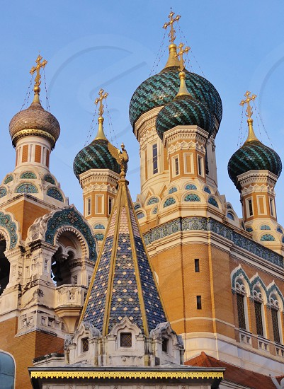 Russian Orthodox Cathedral Nice France photo