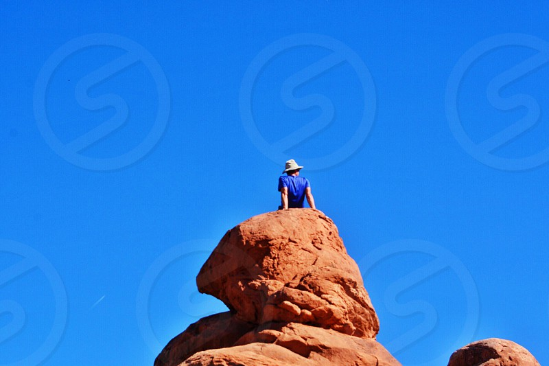 Arches National Park; Utah photo