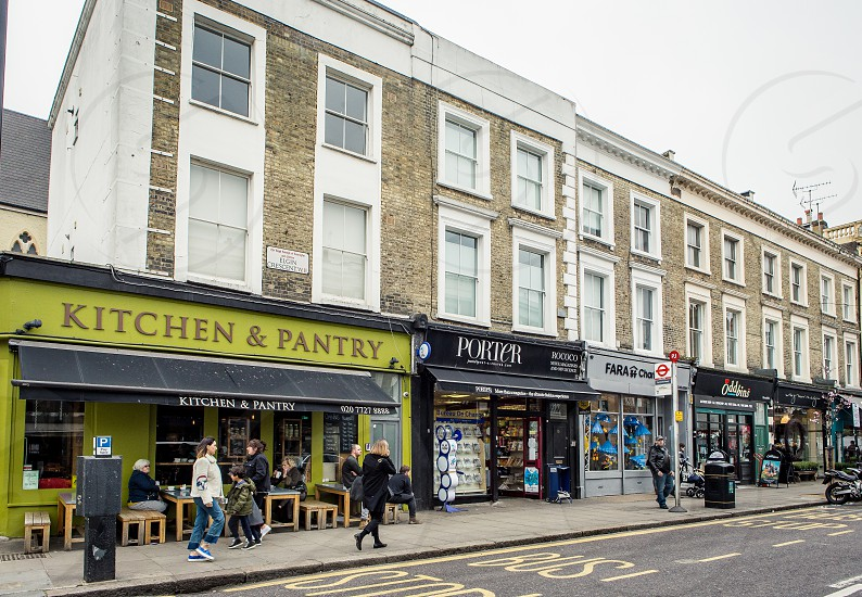 Westbourne Grove Notting Hill London photo