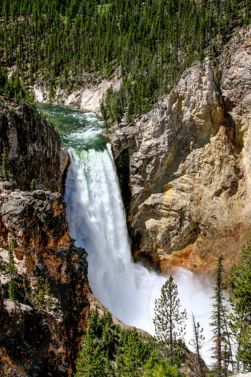 national parks Yellowstone Lower Falls photo