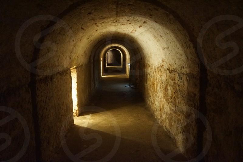 grey tunnel photo