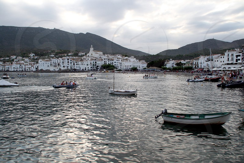 Cadaques sea-side town in Catalonia North-East Spain. photo