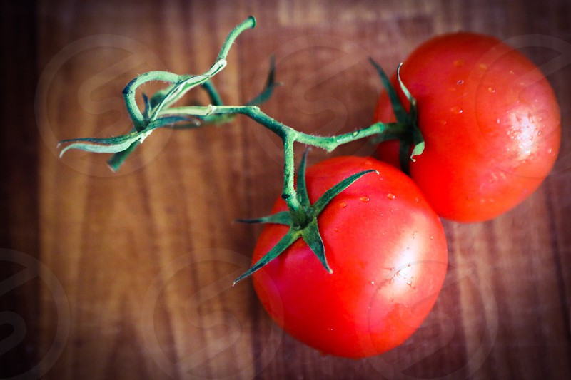 Tomato tomatoes two couple red vegetable vegetables ingredients ingredient food background  wallpaper red plants photo