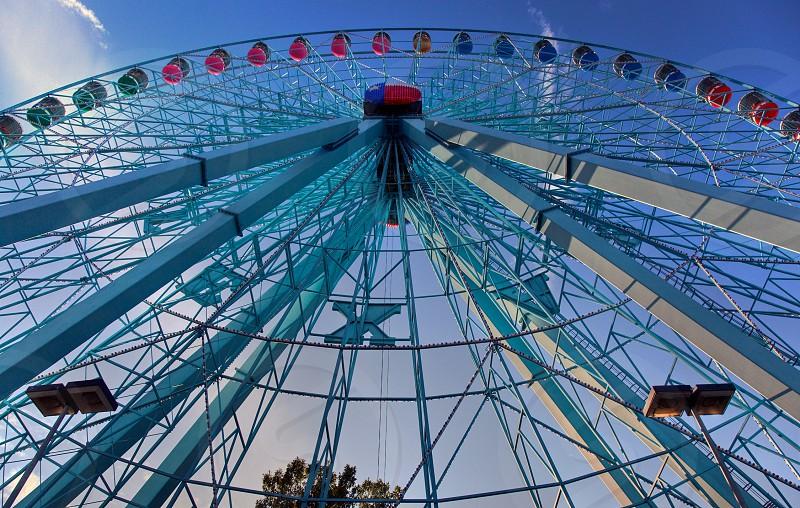 Texas State Fair Ferris Wheel photo