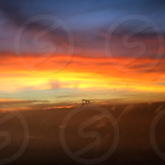 West Texas sunset photo