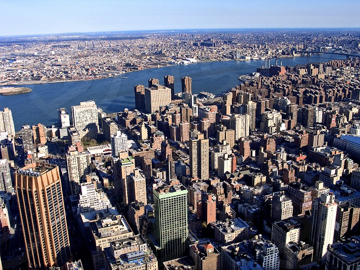 Wiew from Empire State Building New York photo