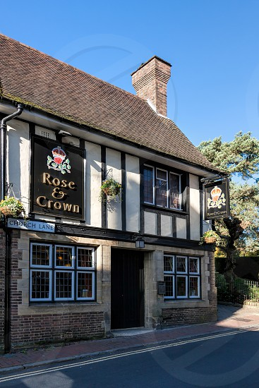 Rose and Crown Public House in East Grinstead photo