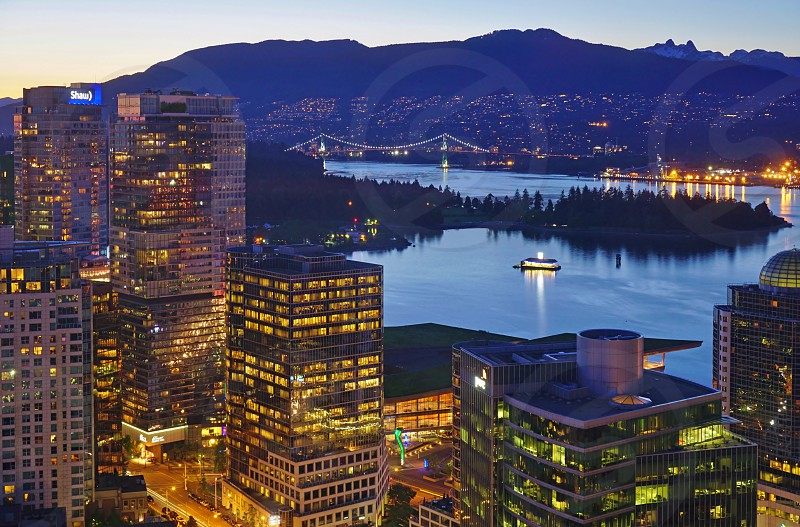 Vancouver Lookout - Vancouver BC Canada photo