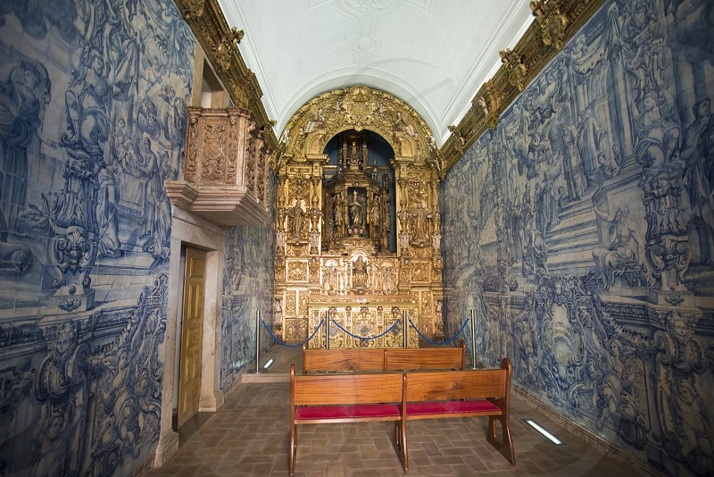 the capela nossa senhora de conceicaol in the town of Loule in the Algarve in the south of Portugal in Europe. photo