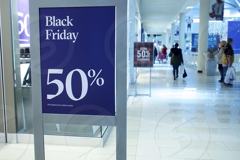 Black Friday Bargains Mall   photo