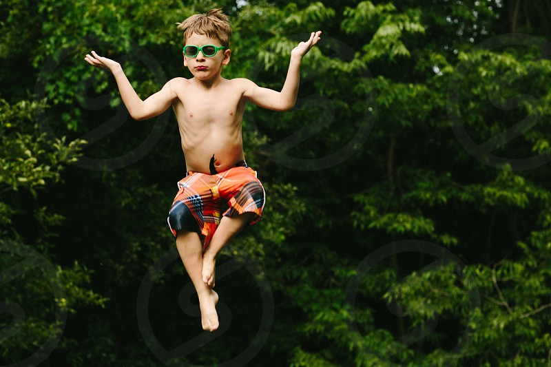 Levitating Child photo