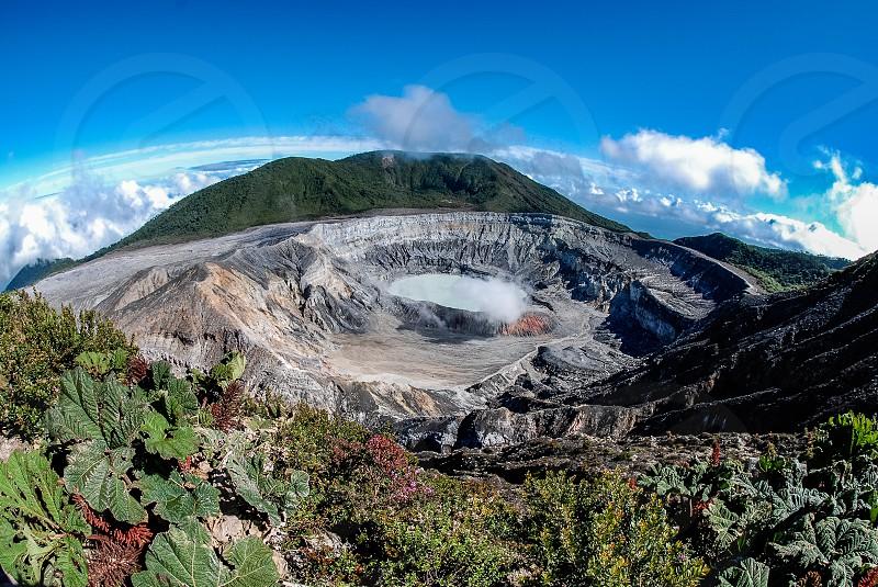 Poas Volacano - Costa Rica photo