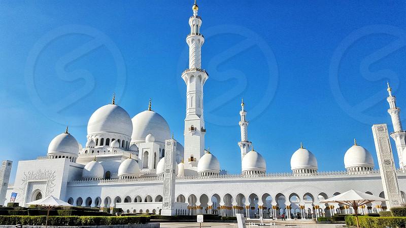 Sheikh zayed mosque - Abu Dhabi - UAE photo