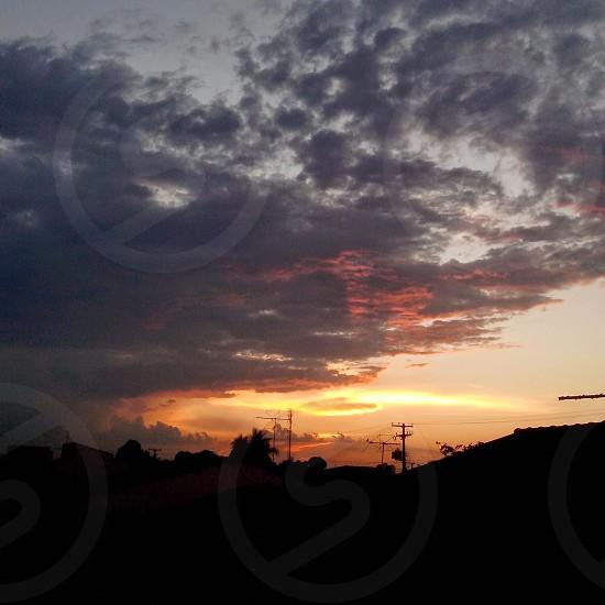 sunset sky Brazil photo