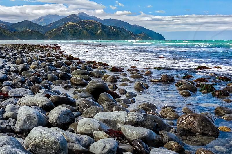 Beach near Mangamaunu photo