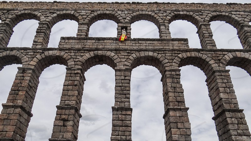 Aqueduct of Segovia - Segovia Spain photo