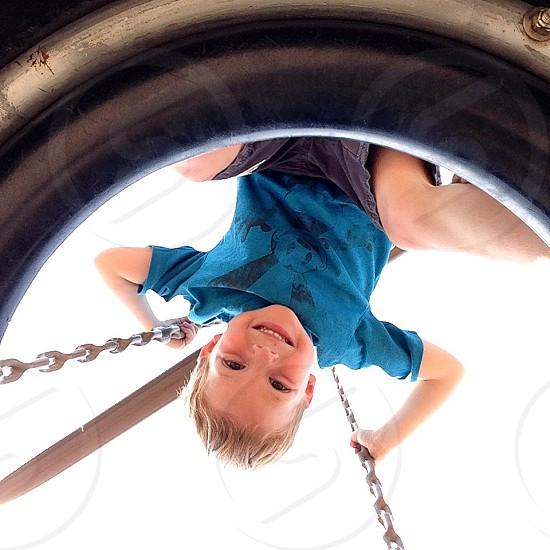 At the playground  photo
