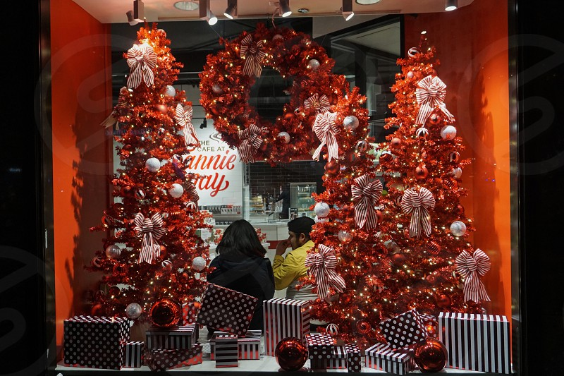 Shopping Fannie may Chicago holidays Magnificent Mile  photo