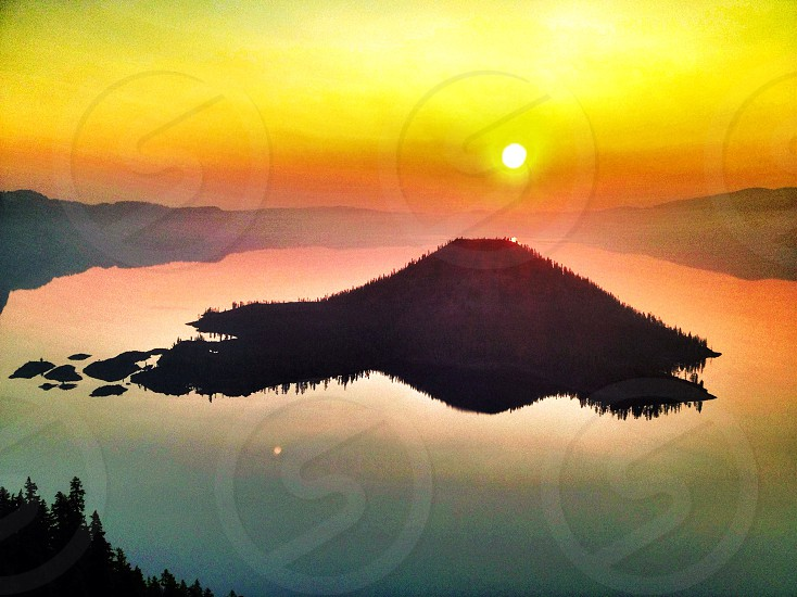 Crater Lake Wa photo