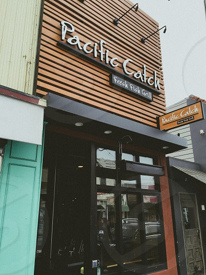 pacific catch fresh fish grill store photo