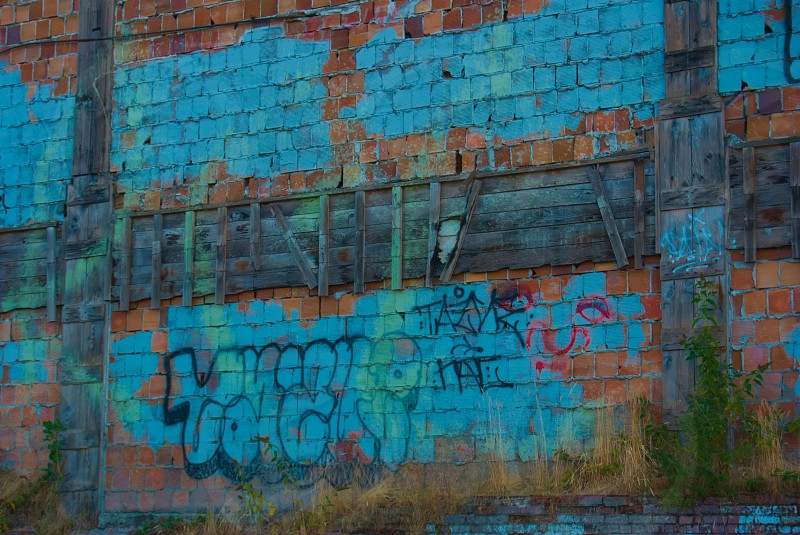 Colorful wall. photo