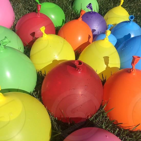 #balloons #color #rainbow photo