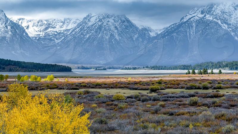 Autumn in the Grand Tetons photo