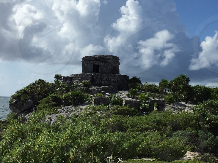 Tulum Ruins in Mexico photo