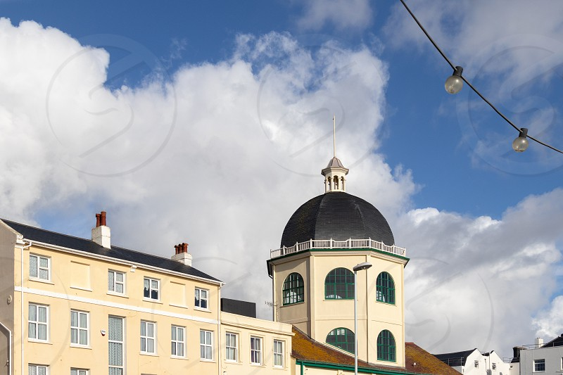 WORTHING WEST SUSSEX/UK - NOVEMBER 13 : View of the Dome Cinema in Worthing West Sussex on November 13 2018 photo