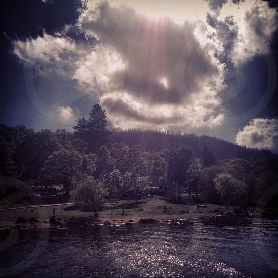 Lake Cuyamaca CA photo