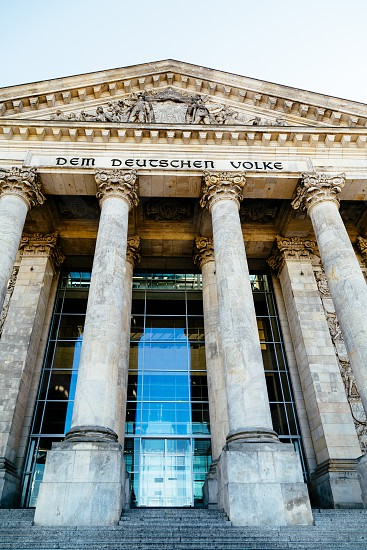 Reichstag building Berlin Germany photo