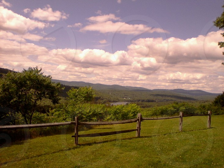 scenery from New England photo