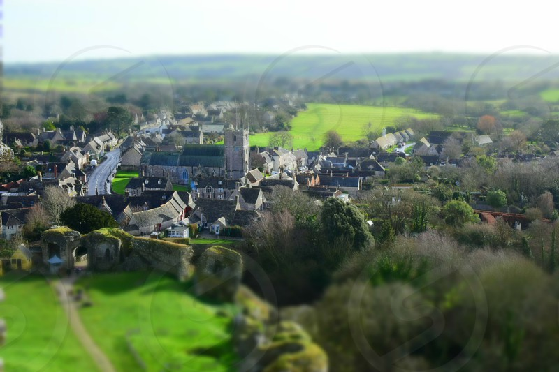 corfe castle photo