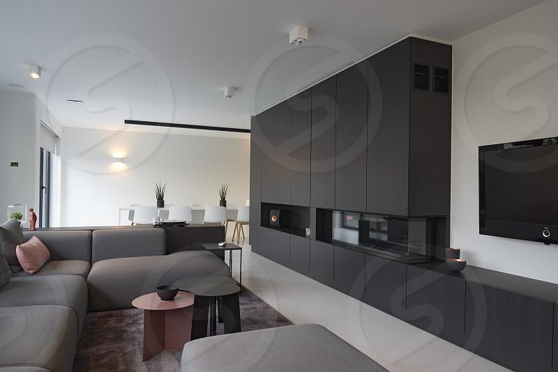 Modern luxury designer living room photo