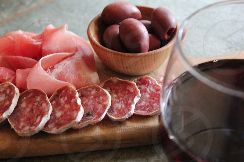 Sonoma Red Wine and Charcuterie photo