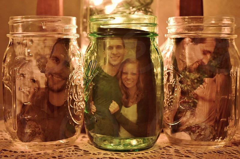 Mason Jar Couple photo