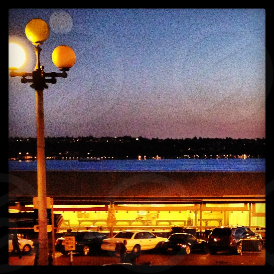 Dusk over Pike Place photo