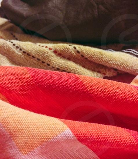 A trio of textiles. photo