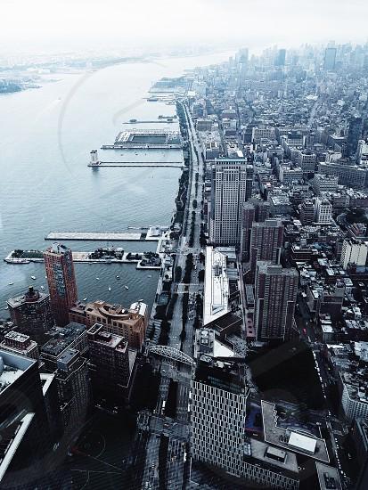 New York City fog morning nyc photo