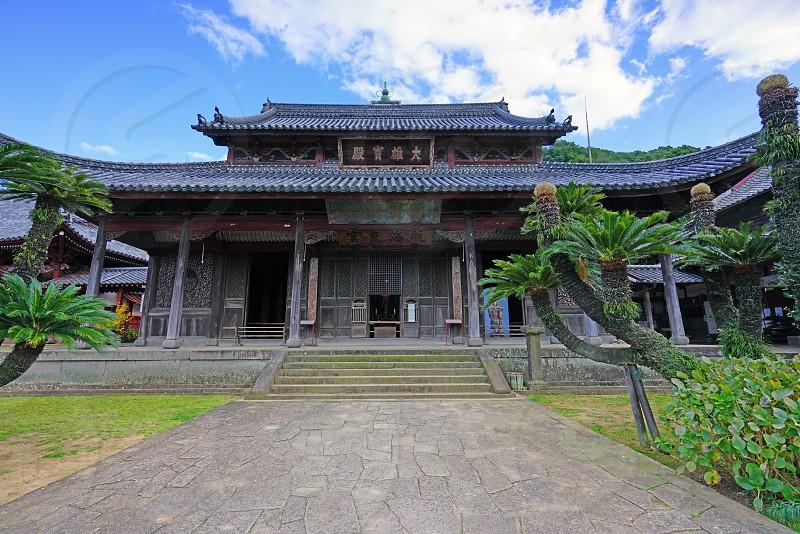 The Kofukuji temple in Nagasaki Japan photo