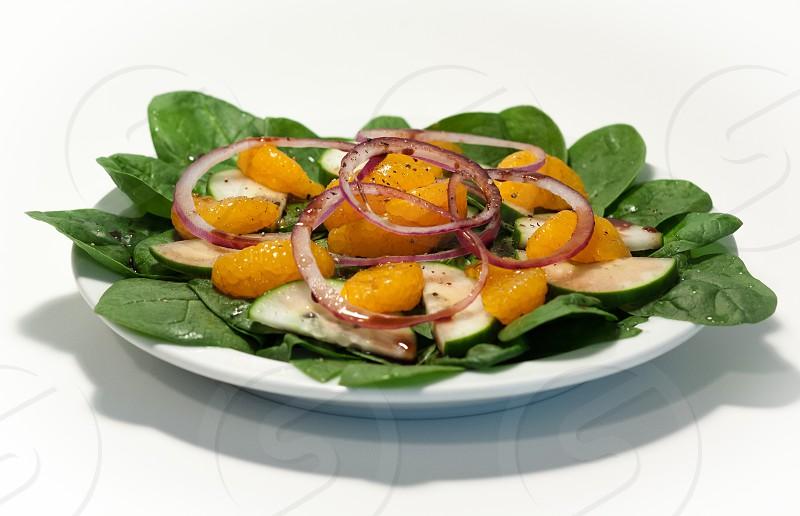 spinach salad photo