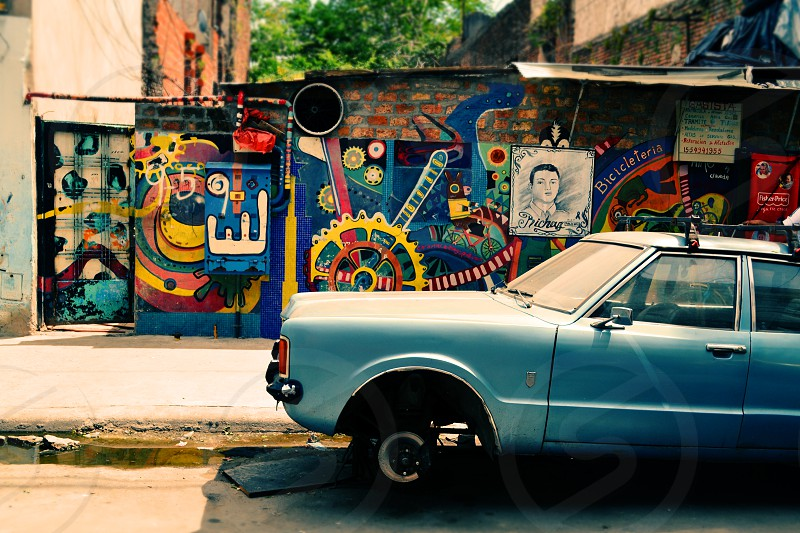Photo of La Boca Buenos Aires Argentina colorful architecture photo