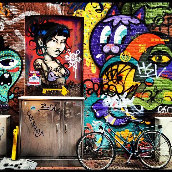 Amsterdam street art (artist: unknown) photo