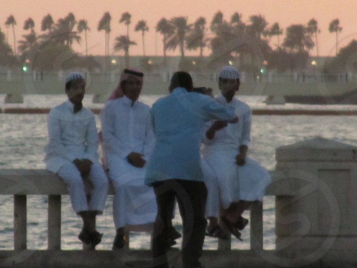 Jeddah corniche photo op photo