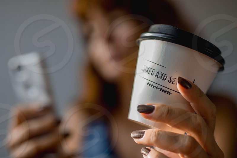 A cup of coffee takeaway photo
