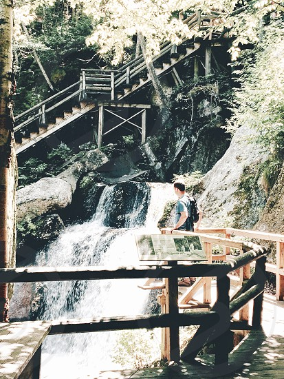 So relaxing watch the waterfall! photo